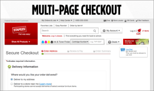 MultiPage Checkout