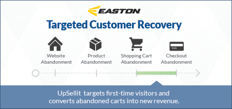 easton reduces cart abandonment