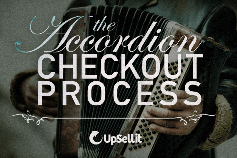 accordion checkout process