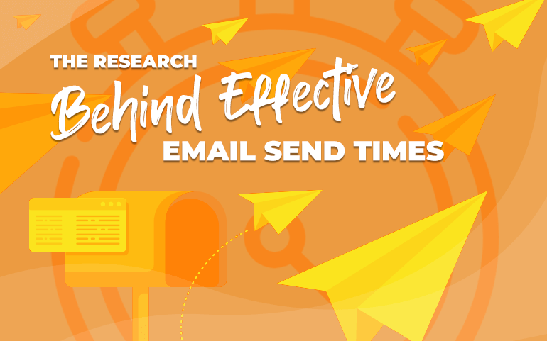 "Title card for ""The Research Behind Effective Email Send Times"""