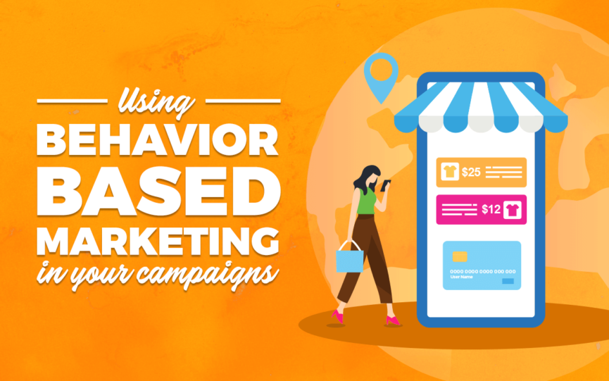 """Using Behavior Based Marketing in Your Campaigns"" title card"