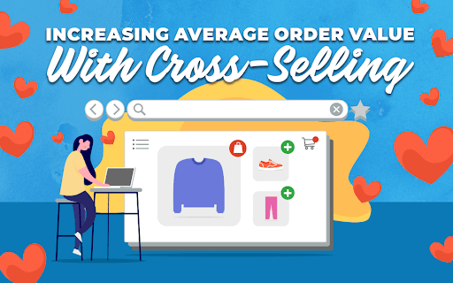 "Title card for ""Increasing Average Order Value with Cross-Selling"""