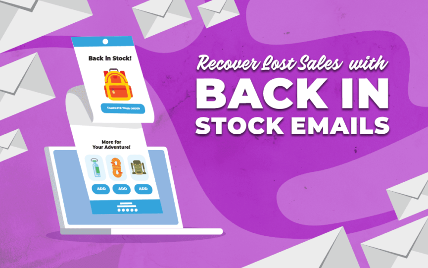 Title card for Recover Lost Sales with Back in Stock Emails